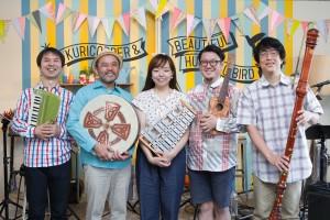 UNNANアートスタート2016 栗コーダーカルテット&ビューティフルハミングバードコンサート
